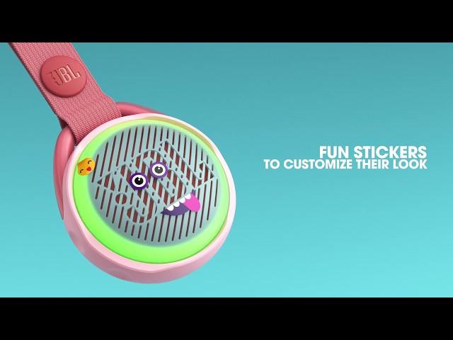 これは大人も使ってもいいでしょ!カラフル&キラキライルミネーションのポップなBluetoothスピーカー「JBL JR POP」