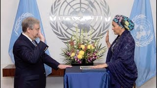 Amina Mohammed sworn-in as UN Deputy Secretary-General