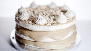 Video Coffee Meringue Cake - Tort Kawowo Bezowy - Recipe #69 MP3, 3GP, MP4, WEBM, AVI, FLV Desember 2018