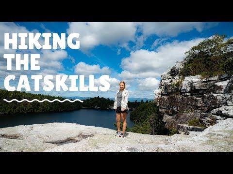 HIking the Catskills - Minnewaska State Park New York