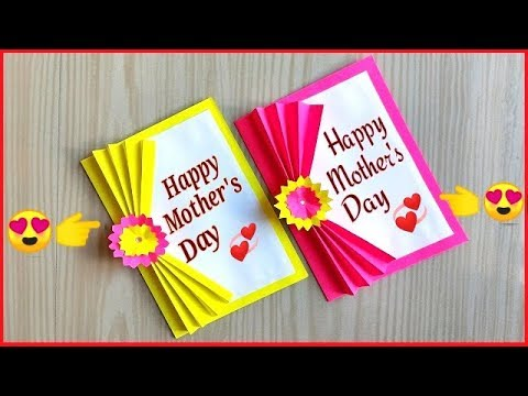 Mothers Day Card Making Handmade Easy And Beaut