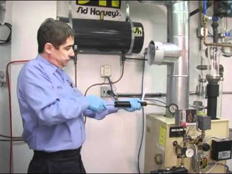 NORA Video 13, Combustion Efficiency Testing