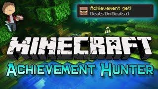 Minecraft: Achievement Hunter Challenge w/Mitch&Mat Part 1 - Deals On Deals!
