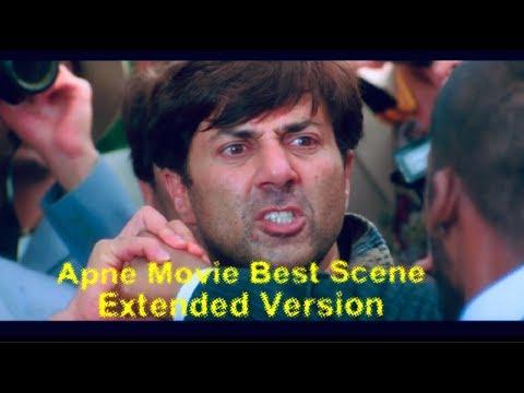 Apne Movie Best Scenes|Extended Version| Dharmendra, Sunny Deol, Bobby Deol