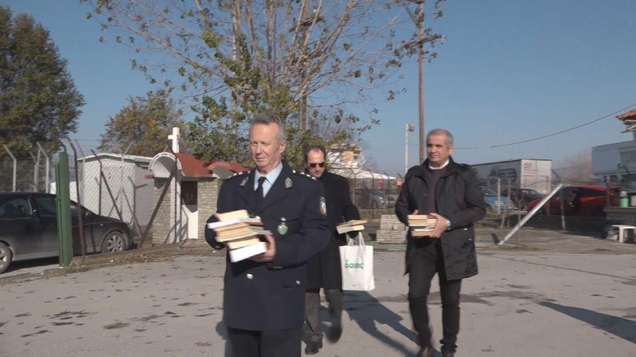 Αστυνομικοί της Θεσσαλονίκης παρέδωσαν στις φυλακές Διαβατών τα πρώτα 100  που συγκέντρωσαν