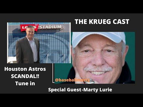 Krueg Cast - Marty Lurie on Houston Astros Sign Stealing Scandal