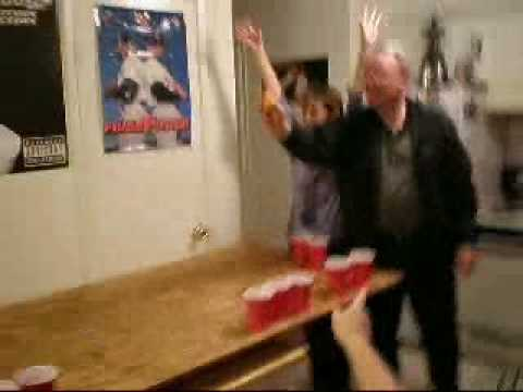 Grandma Beer Pong Beatdown
