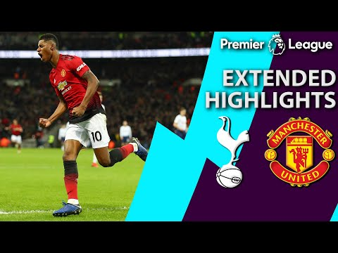 Tottenham V. Man United | PREMIER LEAGUE EXTENDED HIGHLIGHTS | 1/13/19 | NBC Sports