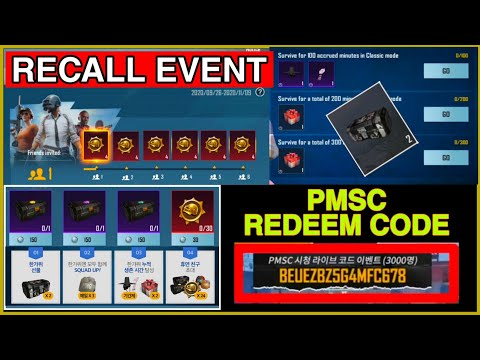 HOW TO COMPLETE PUBG KR RECALL EVENT I PUBG KR RECALL EVENT I Leo GamingYT