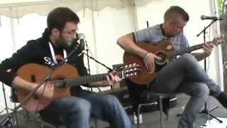 ShowHawk Duo - Tribute to Daft Punk - Alice Park 2014 - YouTube
