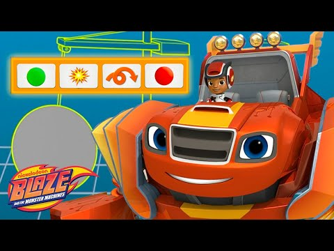 Coding with Robot Blaze! | Blaze and the Monster Machines