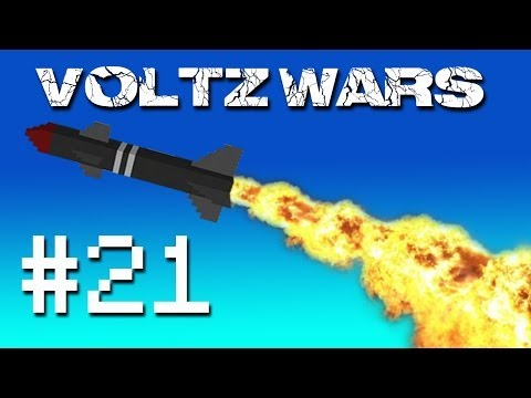 Minecraft Voltz Wars - FMB's Fort! #21