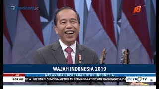 Video [Full] Momen Spesial Jokowi Ngobrol Santai di HUT ke-18 Metro TV MP3, 3GP, MP4, WEBM, AVI, FLV Februari 2019