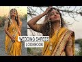 Wedding Saree Lookbook | Bride and Bridesmaid Outfits | indian fashion blogger