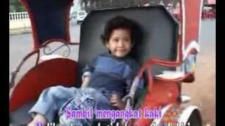 Becak - Lagu Anak-Anak Indonesia Karya Ibu Sud.flv Video