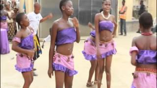 Uyo Nigeria  City pictures : Traditional dancers in Mbak Etoi, Uyo, Akwa Ibom State, Nigeria