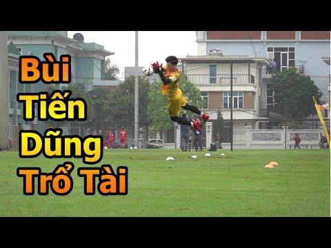 Thử Thách Bóng Đá đi xem Quang Hải , Bùi Tiến Dũng , Đình Trọng U23 Việt Nam tập luyện đấu Thái Lan - Thời lượng: 10 phút.
