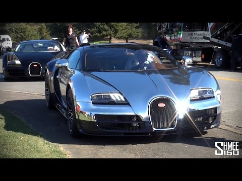 six - Bugatti have created six Legends, three copies of each are to be made and sold, based on the Grand Sport Vitesse. Here are the full line-up of six cars departing from The Quail show during...