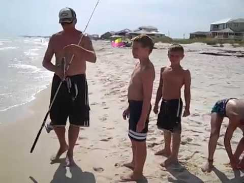 Surf Fishing Fort Morgan Alabama