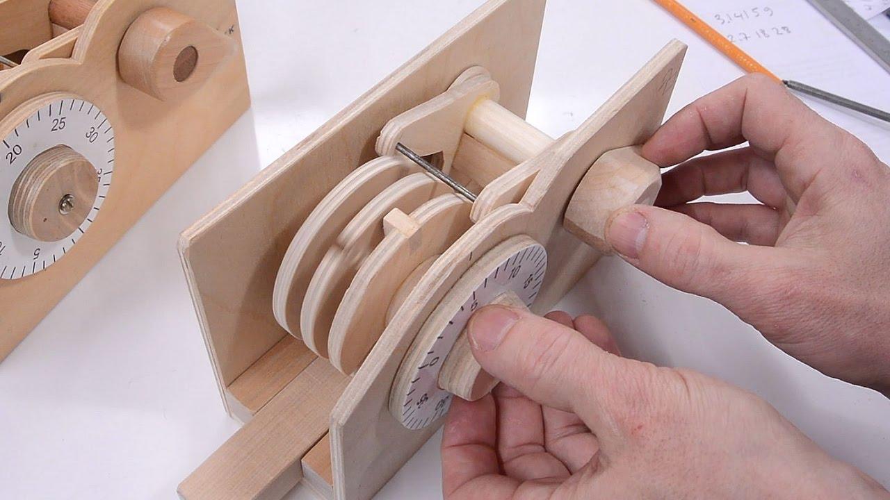 Wooden combination lock build