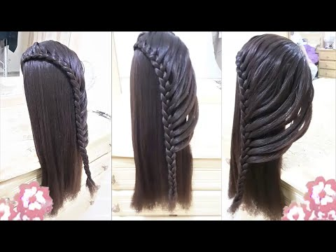 Peinados Faciles Para Nina Con Trenzas Para Cabello Largo