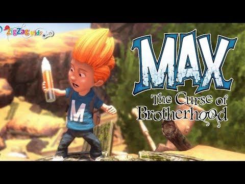 Max The Curse of Brotherhood   Full Movie Game   ZigZag Kids HD