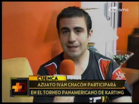 Azuayo Iván Chacón participará en el torneo Panamericano de Karting