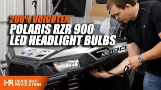 5. 200% Brighter LED Headlights for the Polaris RZR 900