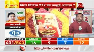 2014 Election Results: Smriti Irani ahead of Rahul Gandhi in Amethi