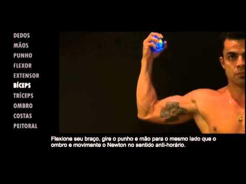 Exerccios Newton Ball   Biceps