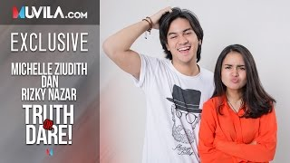 Download Video EXCLUSIVE: Truth or Dare with Rizky Nazar & Michelle Ziudith MP3 3GP MP4