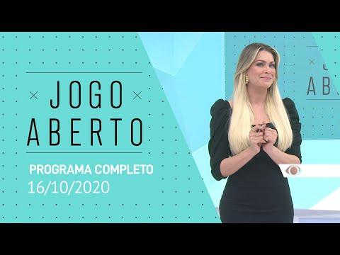 JOGO ABERTO - 16/10/2020 - PROGRAMA COMPLETO