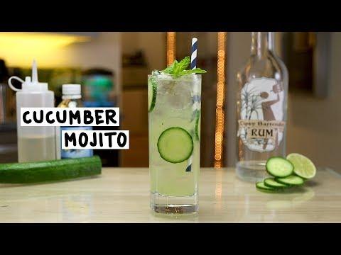 Cucumber Mojito - Tipsy Bartender