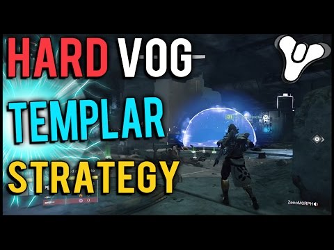 Templar - The Templar can be a show stopper in the Vault of Glass, especially on hard mode! Since now the cheeses have been patched, we're all forced to use a strategy. Hopefully this strategy against...