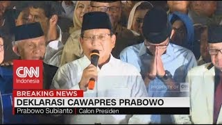 Download Video Prabowo Pilih Sandiaga Uno Jadi Cawapres, Deklarasi PKS, Gerindra, & PAN MP3 3GP MP4