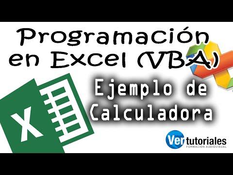 VBA, iniciación de ejemplo para programar en VB6 en Excel