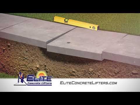 Elite Concrete Lifters Polyurethane Foam Concrete Lifting