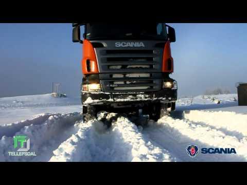 Vinterdager med Scania, Trysil 2011
