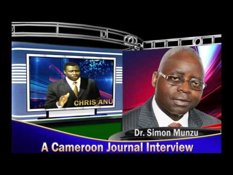 Cameroon Journal Interview With Dr. Simon Munzu