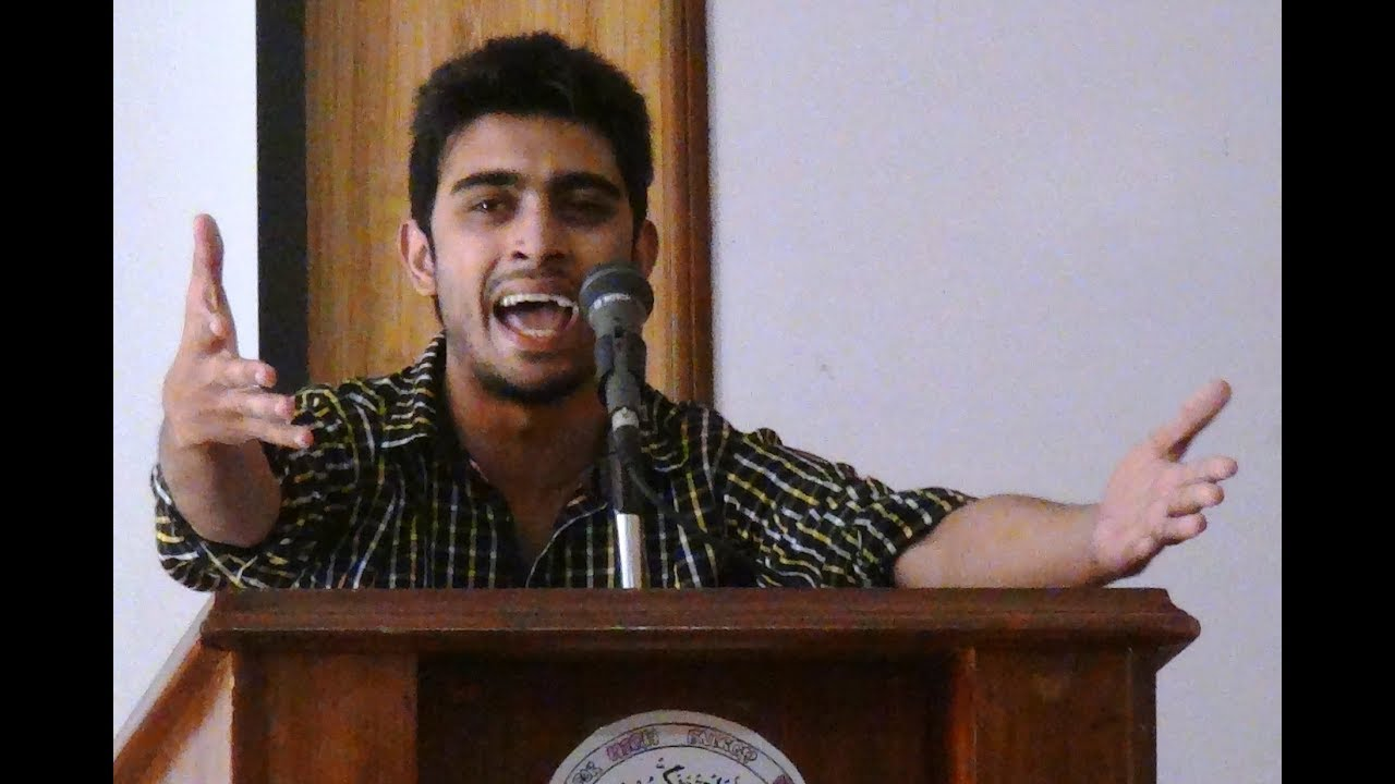 Very Funny Speech on Girls Punjab University Student