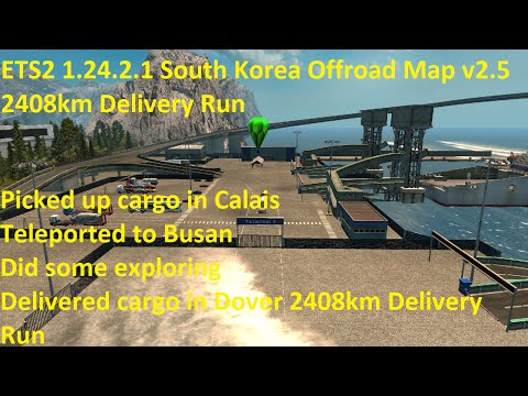 South Korea Offroad Map v2.5
