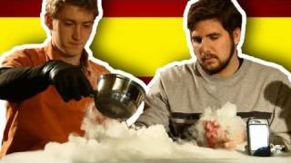 Freezing a Hand with Dry Ice