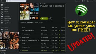 Video [2018] How to download ALL Spotify tracks at once directly to MP3 MP3, 3GP, MP4, WEBM, AVI, FLV Desember 2018