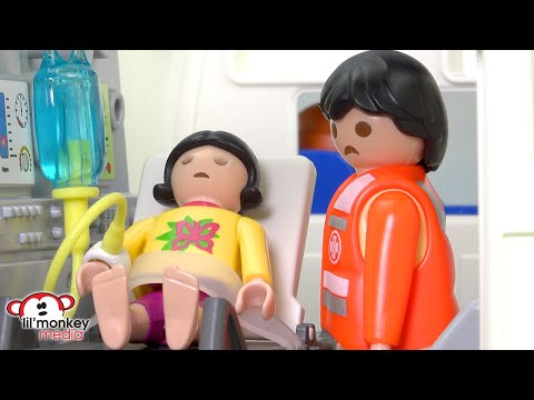 Ricardo Family 🤮Jasmine Sick at the Hospital!! Ep. 164