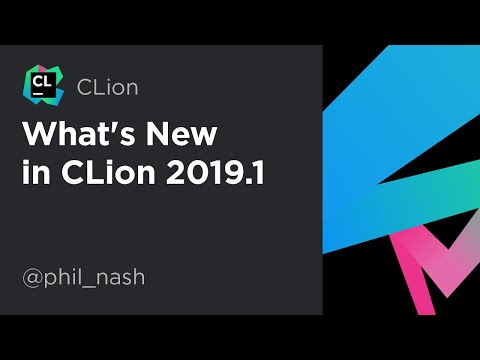 What's New in CLion 2019.1