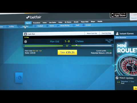 Cash Out On Betfair Sportsbook