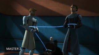 [Obi-Wan & Anakin are caught with Dooku] Star Wars TCW Season 1 Episode 12 [HD]