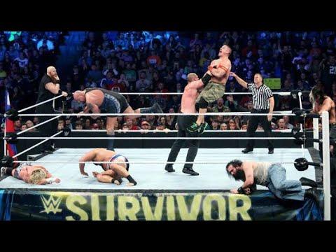 WWE #Team Cena vs Team Authority  best Tag Team match ever
