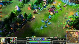 (HD 029) 5c5 demi finale go4lol français part 3 - LoL Replays [FR] -
