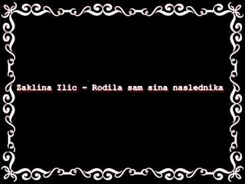 Zaklina Iilic - Sin